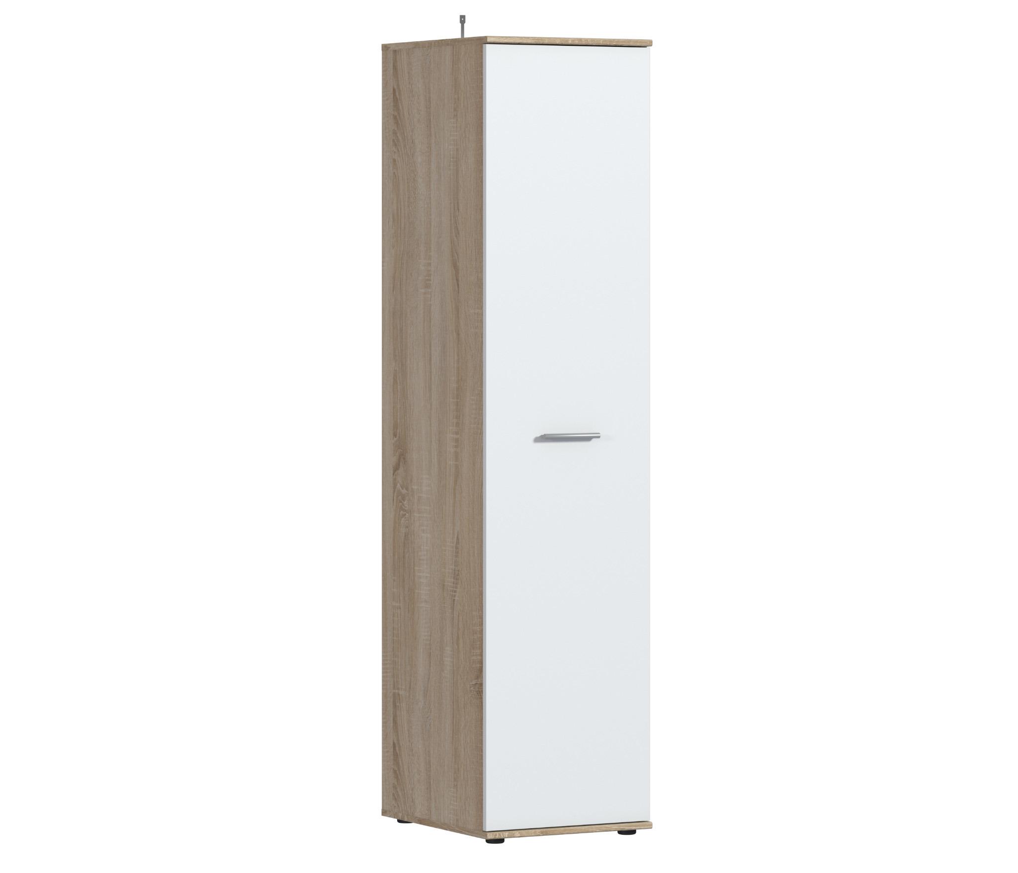 Мамбо СБ-2677 Шкаф 1-о дверныйШкафы<br><br><br>Длина мм: 450<br>Высота мм: 1911<br>Глубина мм: 553