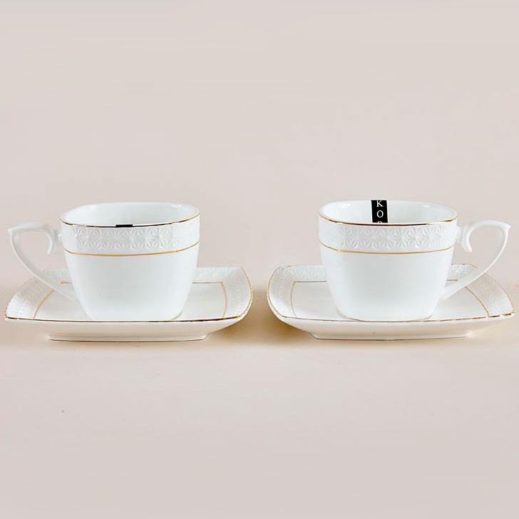Фото - Чайный набор Снежная королева 240 мл 2 персоны/4 предмета ф. квадрат набор для специй из керамики 2 предмета снежная королева s681507 a