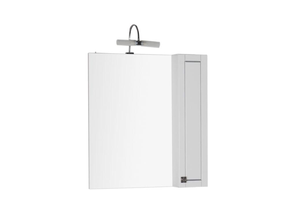 Зеркало Aquanet Честер 75 белыйЗеркало- шкаф для ванной<br><br><br>Длина мм: 0<br>Высота мм: 0<br>Глубина мм: 0<br>Цвет: Белый Глянец