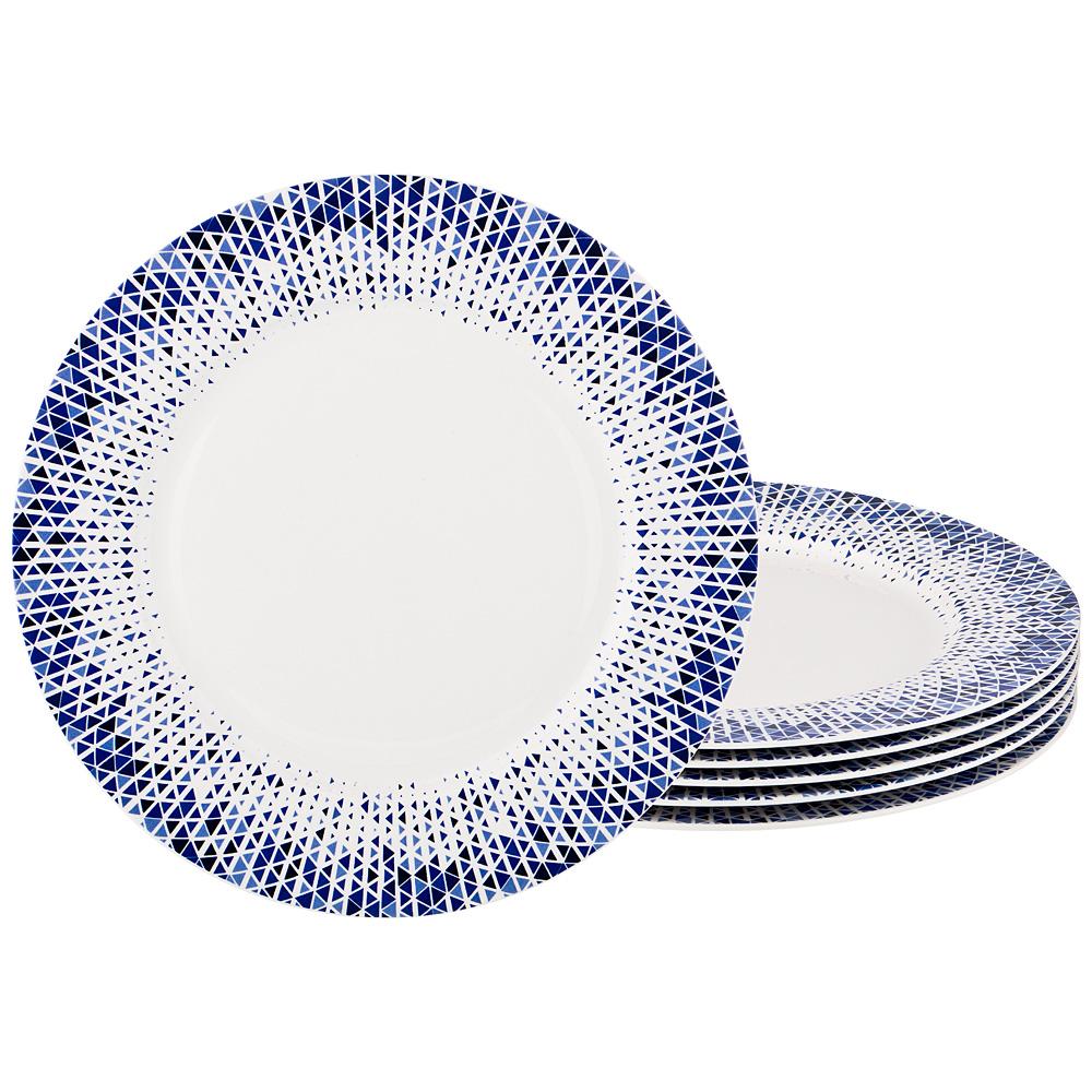 Набор тарелок подстановочных из 6 шт, 27 см. недорого
