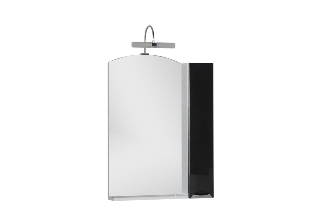 Зеркало Aquanet Асти 65 черныйЗеркало- шкаф для ванной<br><br><br>Длина мм: 0<br>Высота мм: 0<br>Глубина мм: 0<br>Цвет: Чёрный глянец