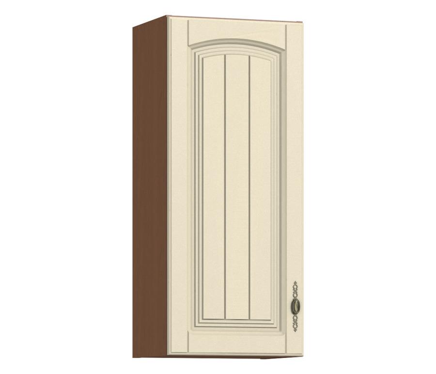 Регина РП-140 полка с фасадомГарнитуры<br>Этот элемент кухни представляет собой три полки, закрытые одной дверцей.<br><br>Длина мм: 400<br>Высота мм: 926<br>Глубина мм: 289