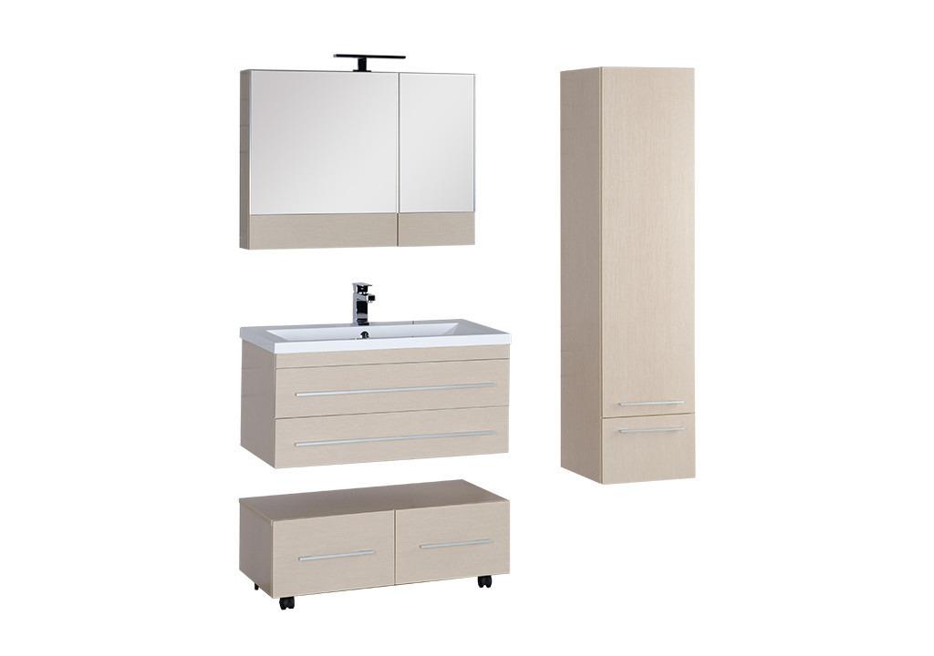 Комплект мебели Aquanet Нота 90 светлый дуб (камерино)Комплекты мебели для ванной<br><br><br>Длина мм: 0<br>Высота мм: 0<br>Глубина мм: 0<br>Цвет: Светлый дуб