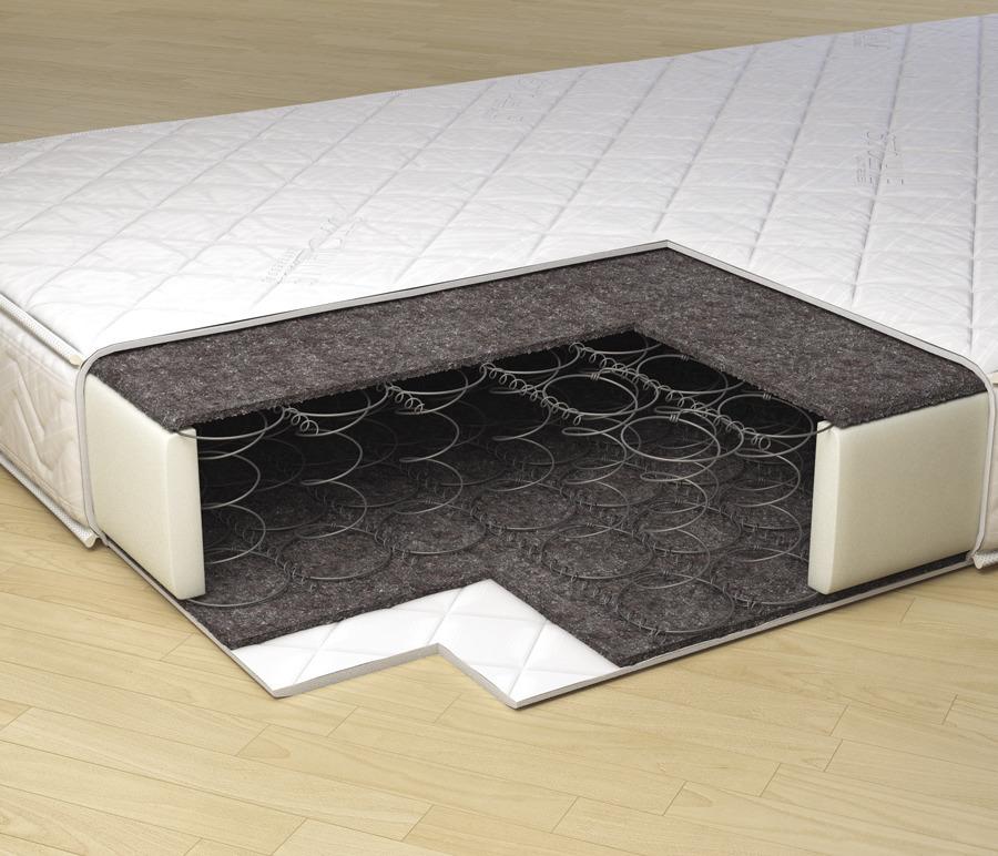 Матрас Классик  900*1950Мебель для спальни<br>Удобный матрас для двуспальной кровати. Это прочный и упругий матрас на основе надежного пружинного блока. Дополнительный комфорт обеспечивается термовойлочным полотном. &#13;Высота: 15;&#13;Периметр: пенополиуретан;&#13;Основа: блок боннель;&#13;Чехол: жаккард синтетический, стеганный на ППУ;&#13;Наполнитель: термовойлок;&#13;Макс. нагрузка на 1 спальное место: до 80 кг.<br><br>Длина мм: 900<br>Высота мм: 150<br>Глубина мм: 1950<br>Длина матраса: 1950<br>Ширина матраса: 900<br>Жесткость матраса: Низкая<br>Тип матраса: пружинный блок бонель
