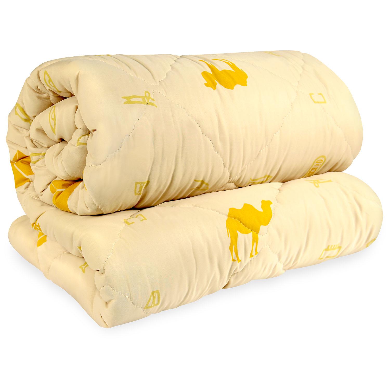Одеяло из верблюжей шерсти в чехле из микрофибры, 140х205 см