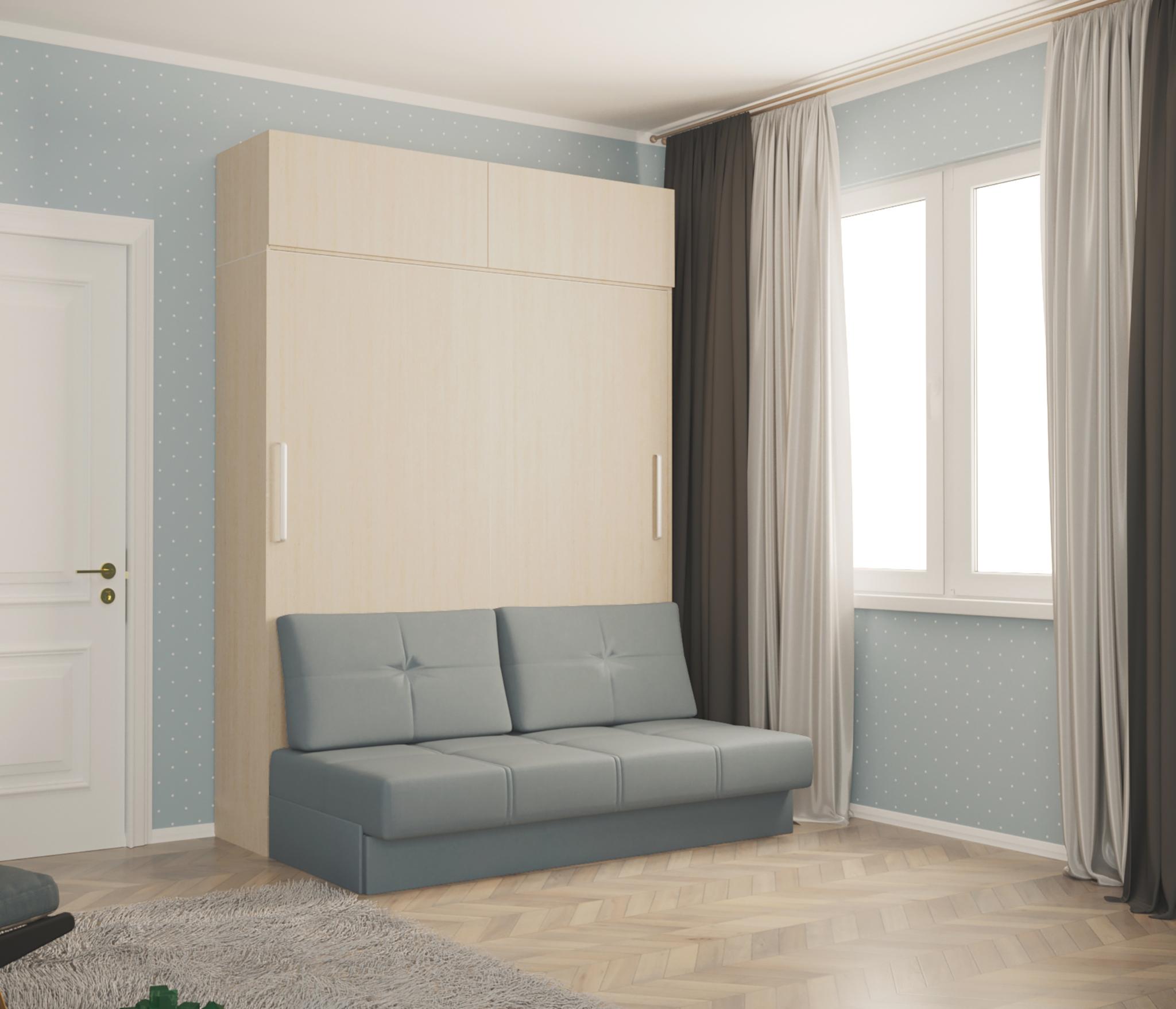 Трансформер шкаф-диван-кровать