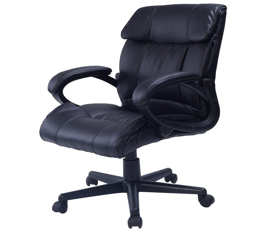 Кресло руководителя  CB10054Компьютерные<br><br><br>Длина мм: 520<br>Высота мм: 0<br>Глубина мм: 540<br>Цвет: Черный