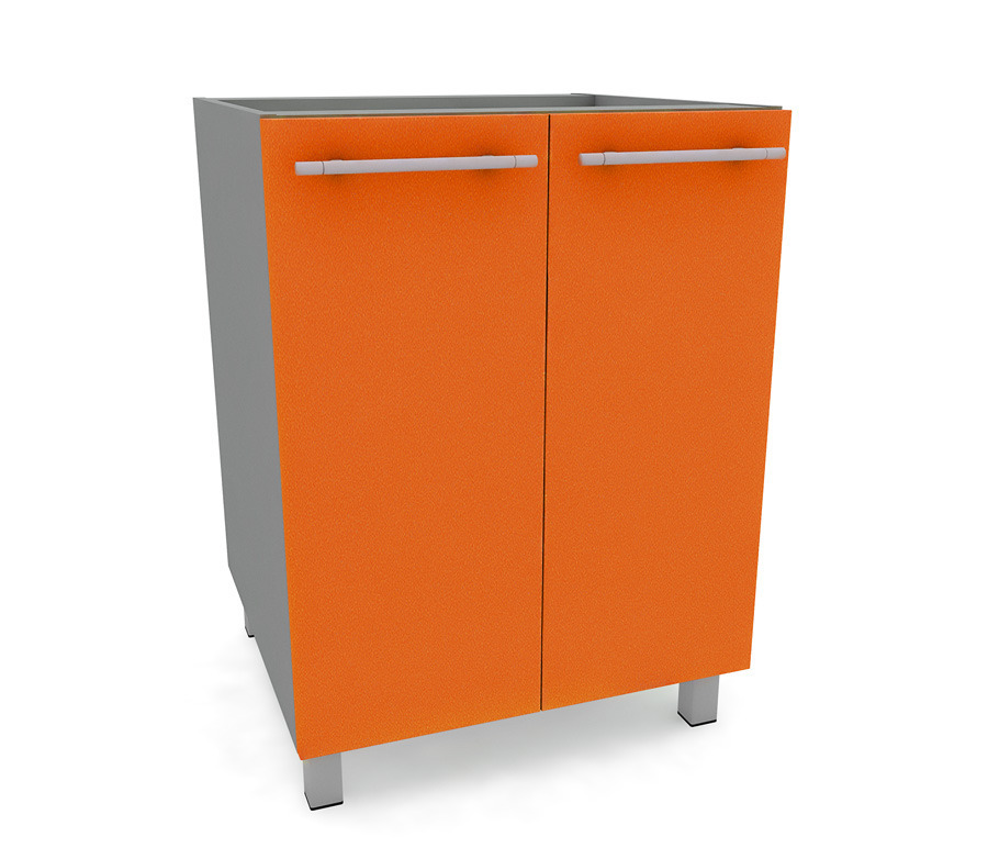 Анна АС-60 стол с 2-мя фасадамиМебель для кухни<br>Стол с двумя фасадами Анна АС-60 - полезный и нужный элемент кухонной мебели. Такие столы служат для хранения посуды или продуктов, не требующих охлаждения.<br><br>Длина мм: 600<br>Высота мм: 820<br>Глубина мм: 563