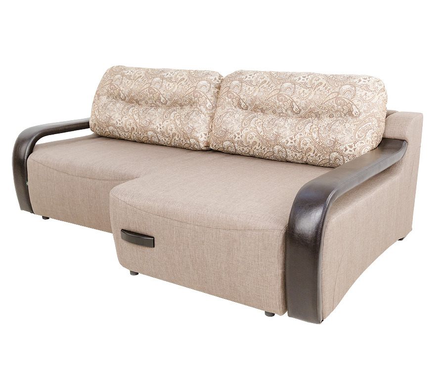Диван Камп-Ноу угловой с полуоттоманкой правыйМягкая мебель<br><br><br>Длина мм: 2310<br>Высота мм: 950<br>Глубина мм: 1400