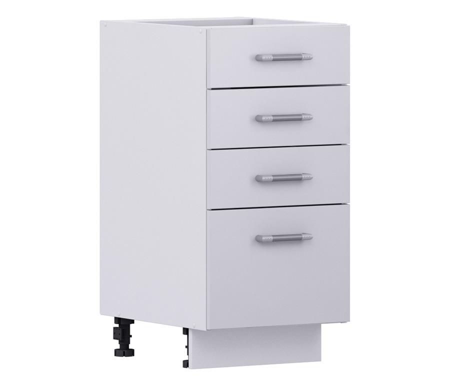 Надежда НСЯ-40 Шкаф-Стол с ящикамиКухня<br><br><br>Длина мм: 400<br>Высота мм: 820<br>Глубина мм: 515