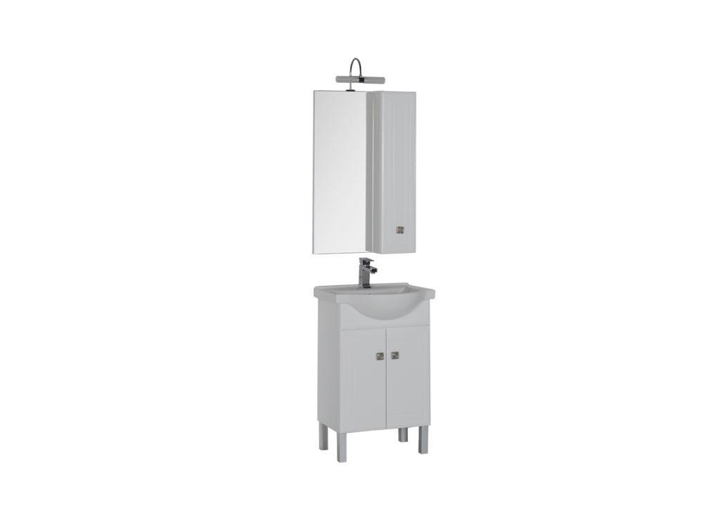 Комплект мебели Aquanet Стайл 55 белыйКомплекты мебели для ванной<br><br><br>Длина мм: 0<br>Высота мм: 0<br>Глубина мм: 0<br>Цвет: Белый