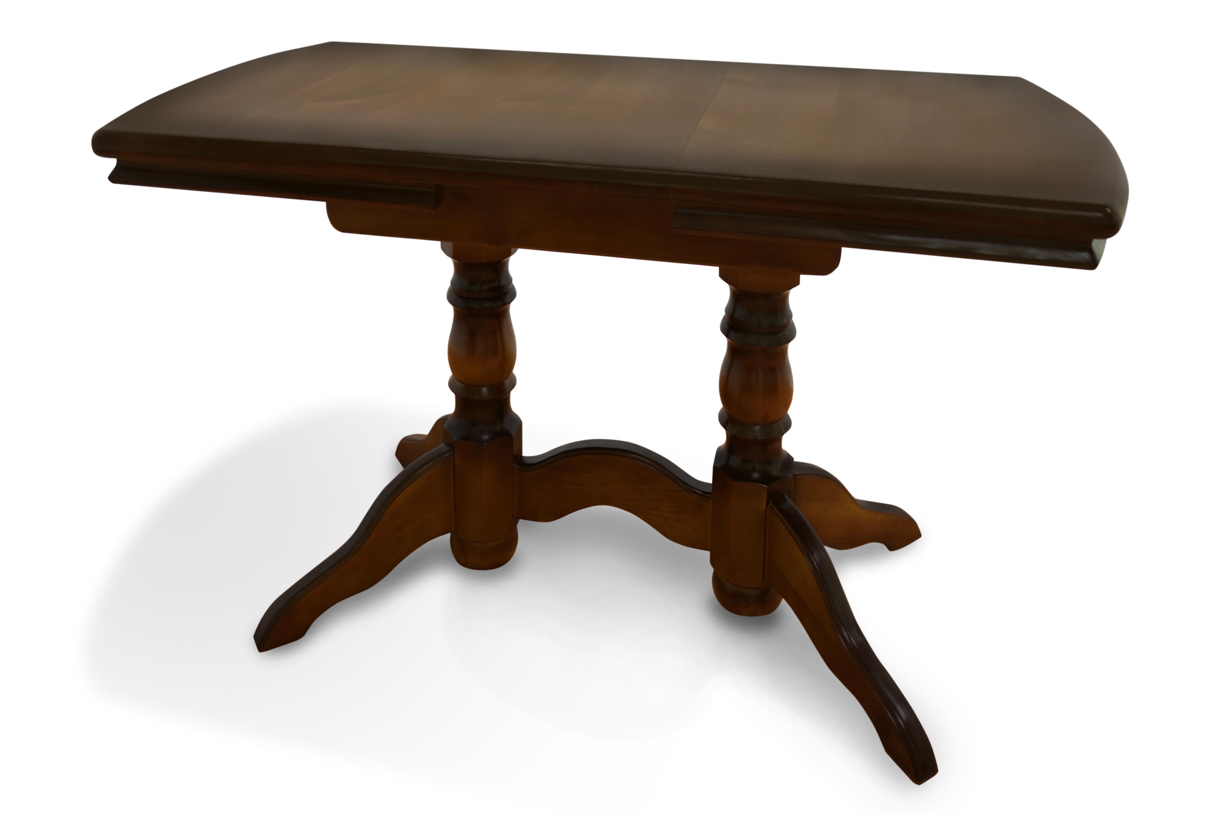 Стол из массива дерева Бэйкер стол laredoute обеденный круглый из массива сосны authentic style 8 персоны бежевый