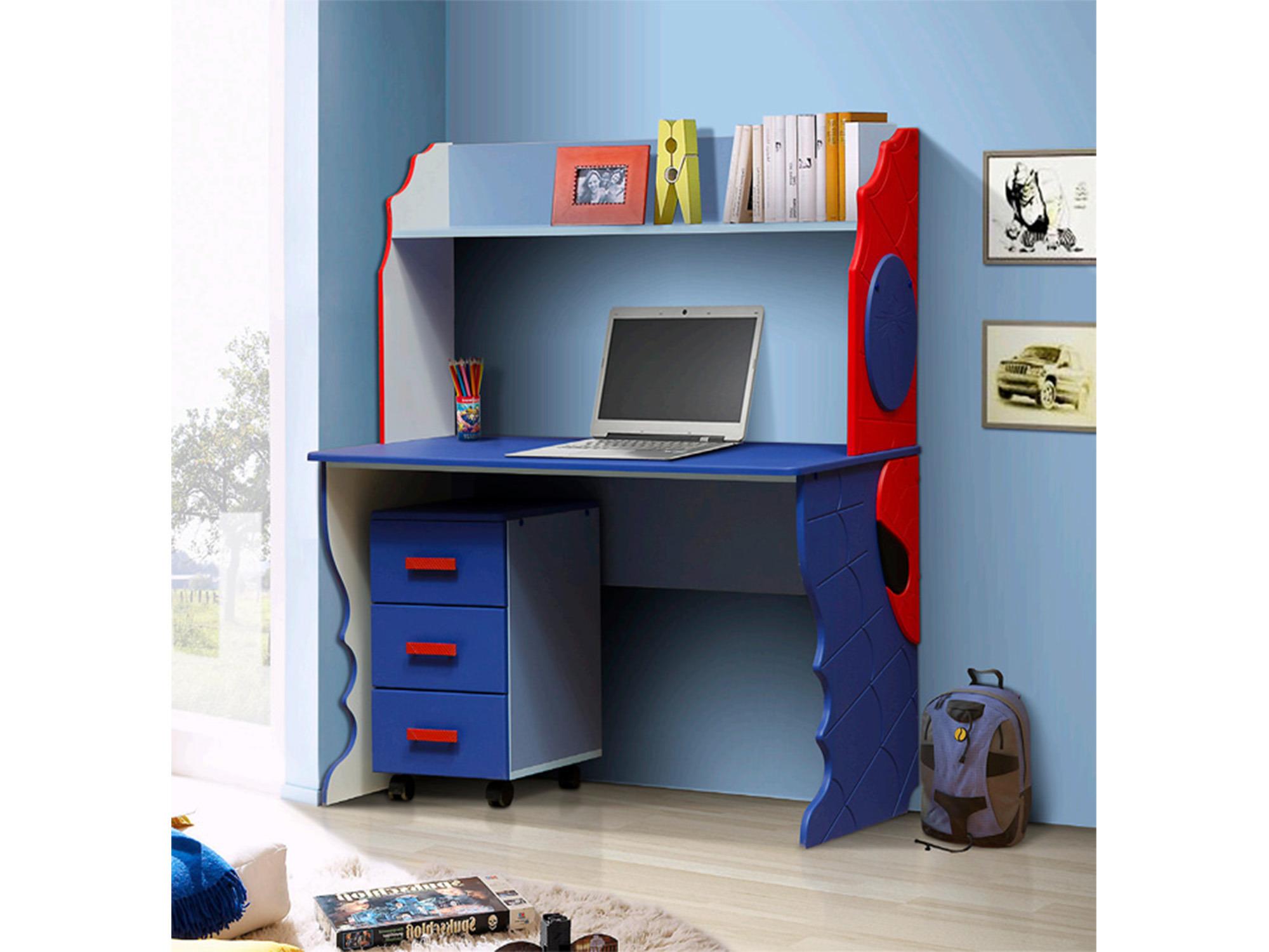 Стол письменный тумба ПаукПисьменные столы<br><br><br>Длина мм: 1220<br>Высота мм: 1390<br>Глубина мм: 550