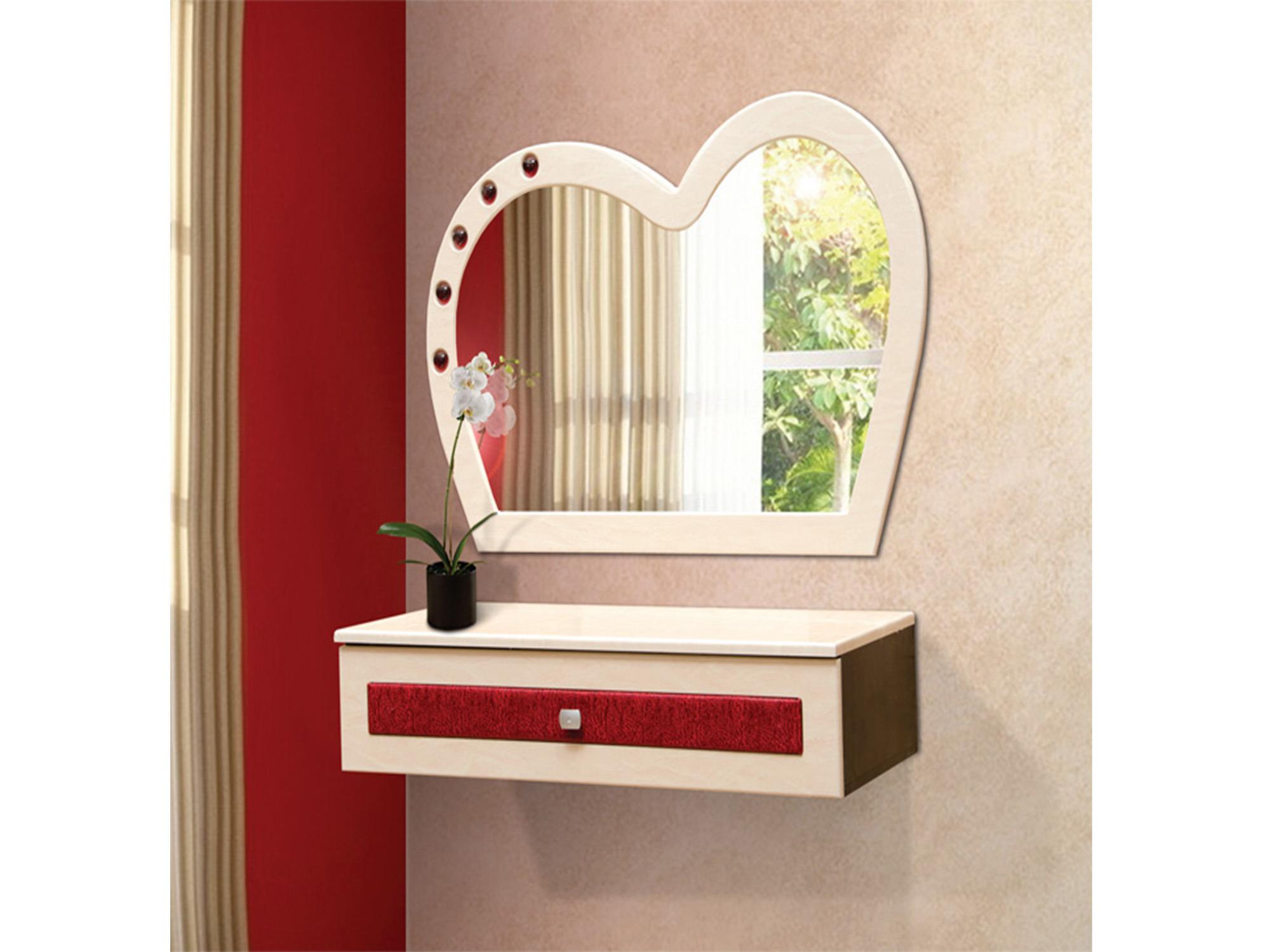 Стол туалетный навесной Кокетка-1Туалетные столики<br><br><br>Длина мм: 1200<br>Высота мм: 750<br>Глубина мм: 500