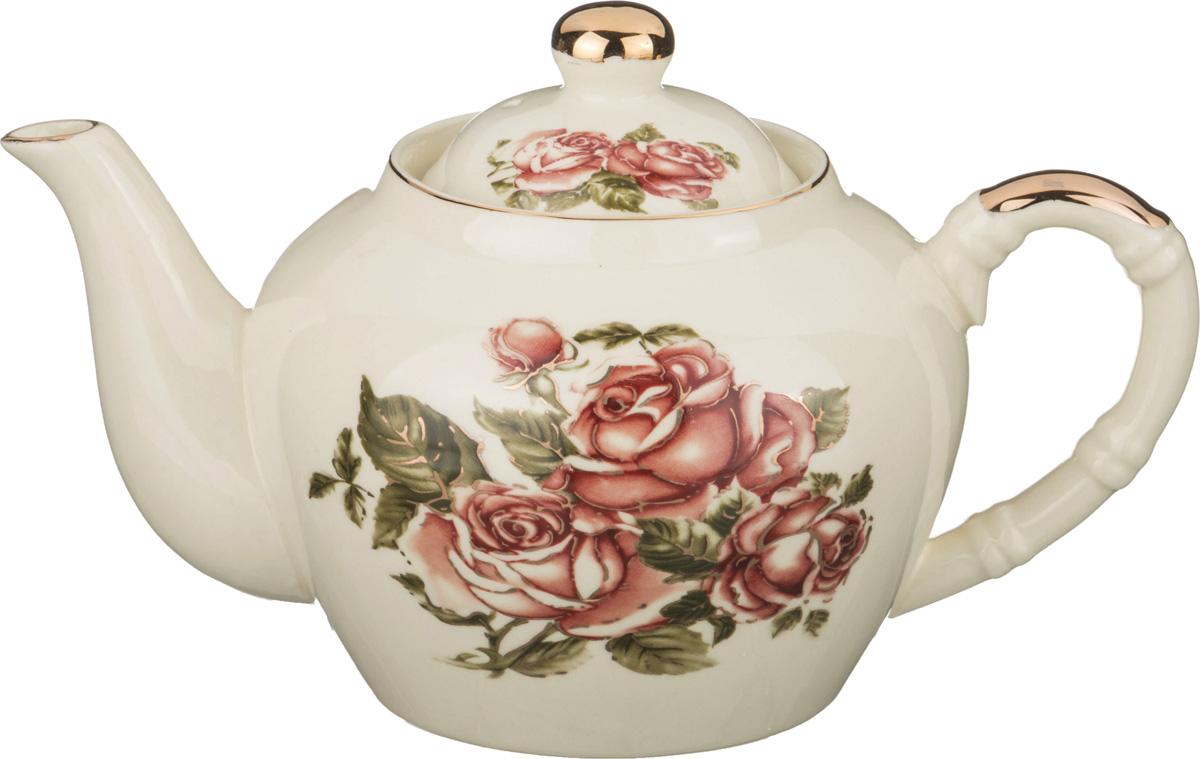 Заварочный чайник Корейская роза 680 мл lefard заварочный чайник корейская роза 1 3 л белый розовый золотой