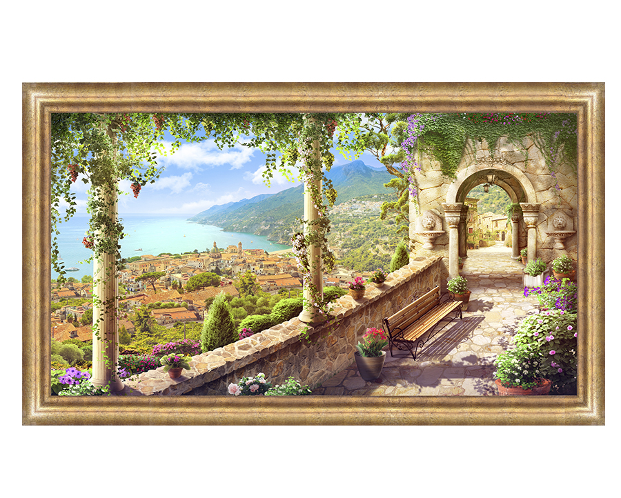 Постер живопись 60*100 T-1045 Z70 фото