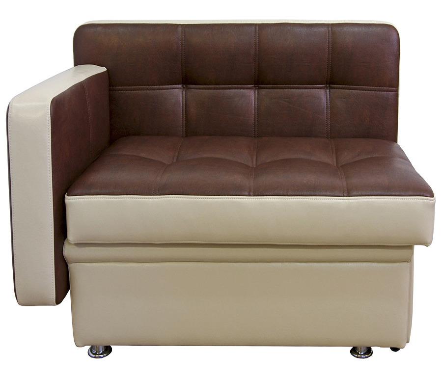 Диван Фокус. Подлокотник слева (125)Мягкая мебель<br><br><br>Длина мм: 125<br>Высота мм: 82<br>Глубина мм: 67