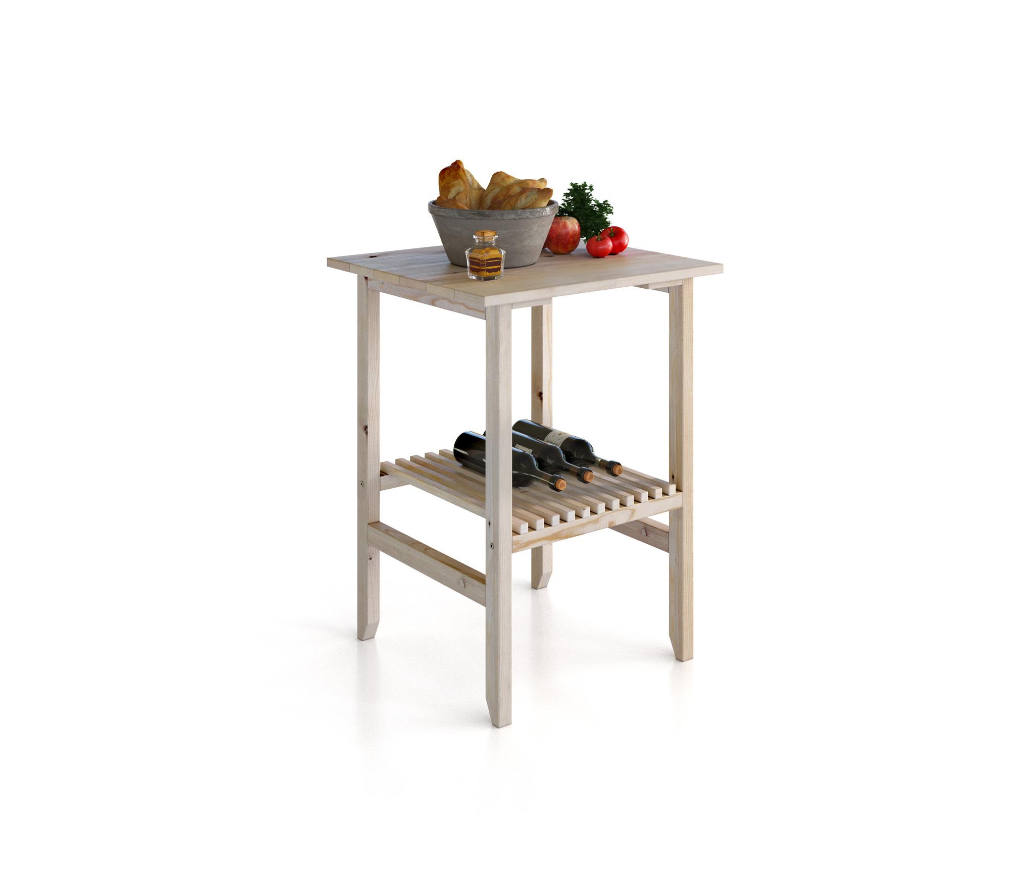 Кантри (Карелия) МС-30 столик соснаСопутствующие<br>Садовый стол  Карелия  изготовлен из массива сосны с лаконичным дизайном в стиле кантри. Все элементы стола отполированы до гладкости, а текстура древесины придаст интерьеру веранды или беседки особый домашний уют. Главным украшением стола является специальная полочка, набранная из тщательно подогнанных маленьких дощечек. Столик может использоваться как журнальный или же кофейный. Этот столик сделан исключительно ручными инструментами, из экологически чистого материала   древесины сосны. Этот материал прочен, устойчив к различным жизненным перипетиям, и к тому же обладает красивой натуральной текстурой, которая хорошо проявляется при обработке.&#13;ВНИМАНИЕ! Перед началом эксплуатации вне помещений, необходимо обработать деревянные части мебели специализированными защитными составами!&#13;]]&gt;<br><br>Длина мм: 580<br>Высота мм: 768<br>Глубина мм: 540