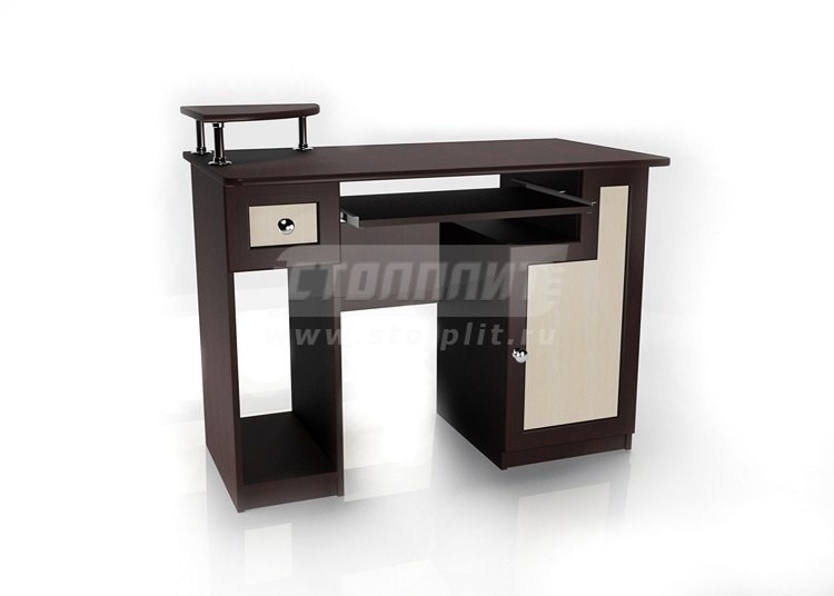 Стол для компьютера МБ – 1Кабинет<br><br><br>Длина мм: 1100<br>Высота мм: 900<br>Глубина мм: 600