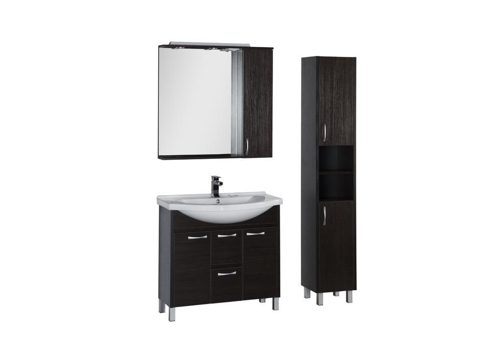 Комплект мебели Aquanet Донна 90 венгеКомплекты мебели для ванной<br><br><br>Длина мм: 0<br>Высота мм: 0<br>Глубина мм: 0<br>Цвет: Венге