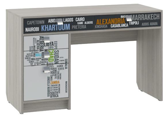 Стол для детской ГеографияПисьменные столы<br><br><br>Длина мм: 1200<br>Высота мм: 750<br>Глубина мм: 500