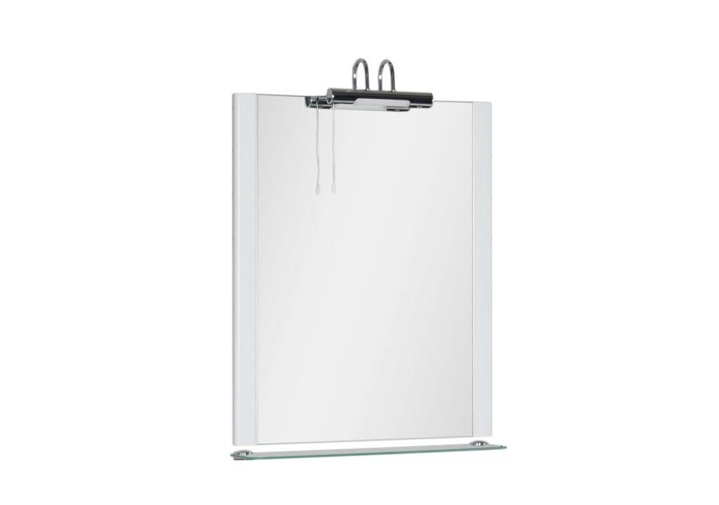 Зеркало Aquanet  Асти 65Зеркало- шкаф для ванной<br><br><br>Длина мм: 0<br>Высота мм: 0<br>Глубина мм: 0<br>Цвет: Белый Глянец