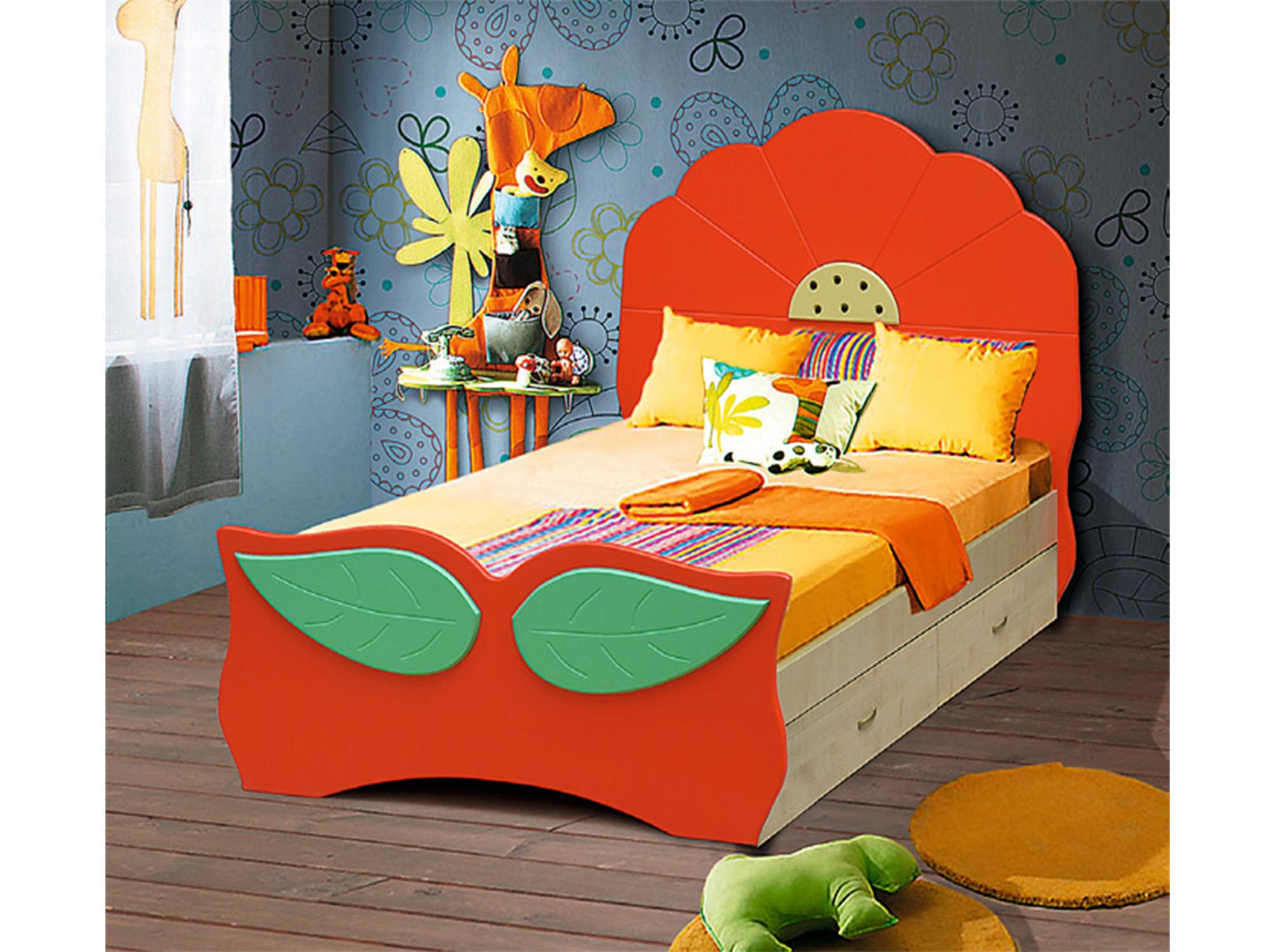 Кровать Мак с ящикамиДетские кровати<br><br><br>Длина мм: 910<br>Высота мм: 910<br>Глубина мм: 1750
