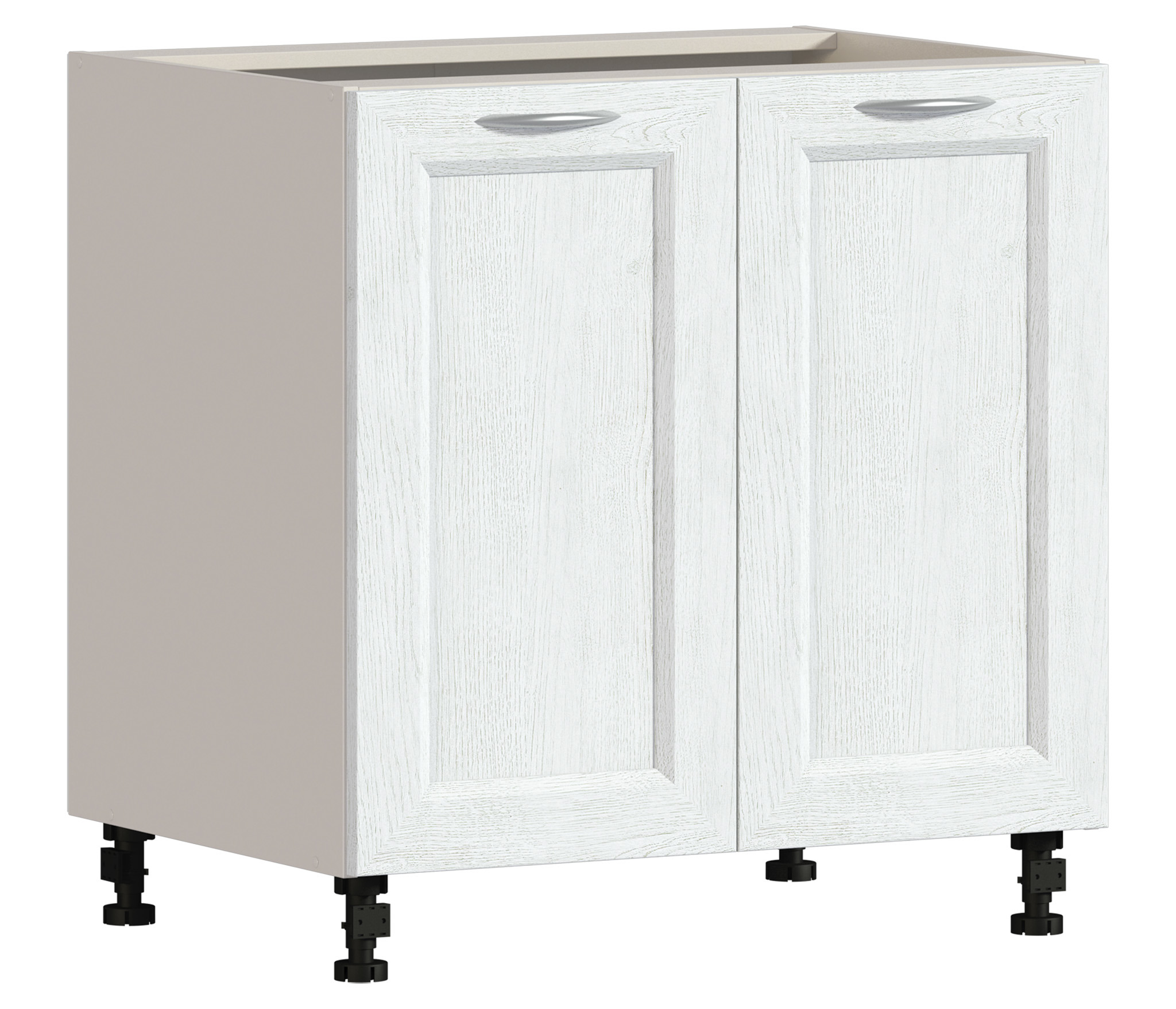Регина РС-80 стол с 2-мя фасадамиГарнитуры<br>Вместительный стол с двумя фасадами для кухни, выполнен в классическом стиле. Дополнительно рекомендуем приобрести столешницу.<br><br>Длина мм: 800<br>Высота мм: 820<br>Глубина мм: 563