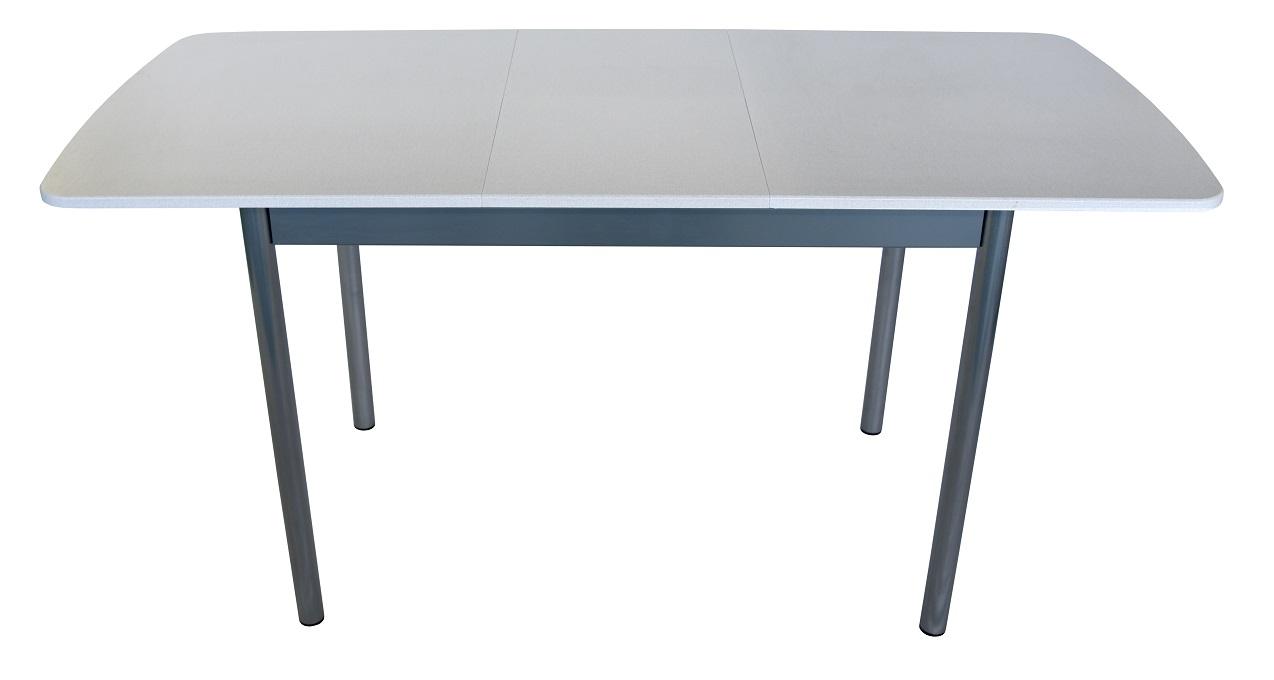 Стол раздвижной Сатин 120*70 (металлик) Столплит