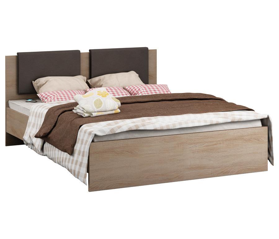 Веста СБ-2644 Кровать 1600Кровати<br><br><br>Длина мм: 2054<br>Высота мм: 913<br>Глубина мм: 1660