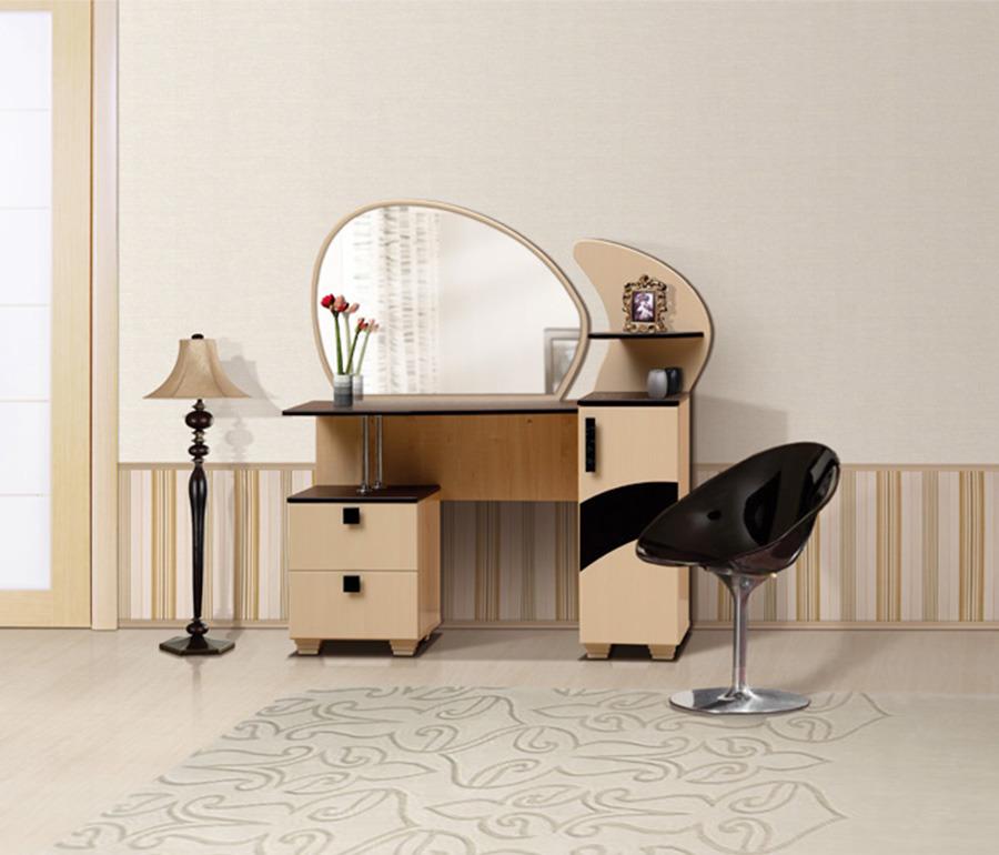 Стол туалетный ЖасминТуалетные столики<br><br><br>Длина мм: 1260<br>Высота мм: 1400<br>Глубина мм: 480
