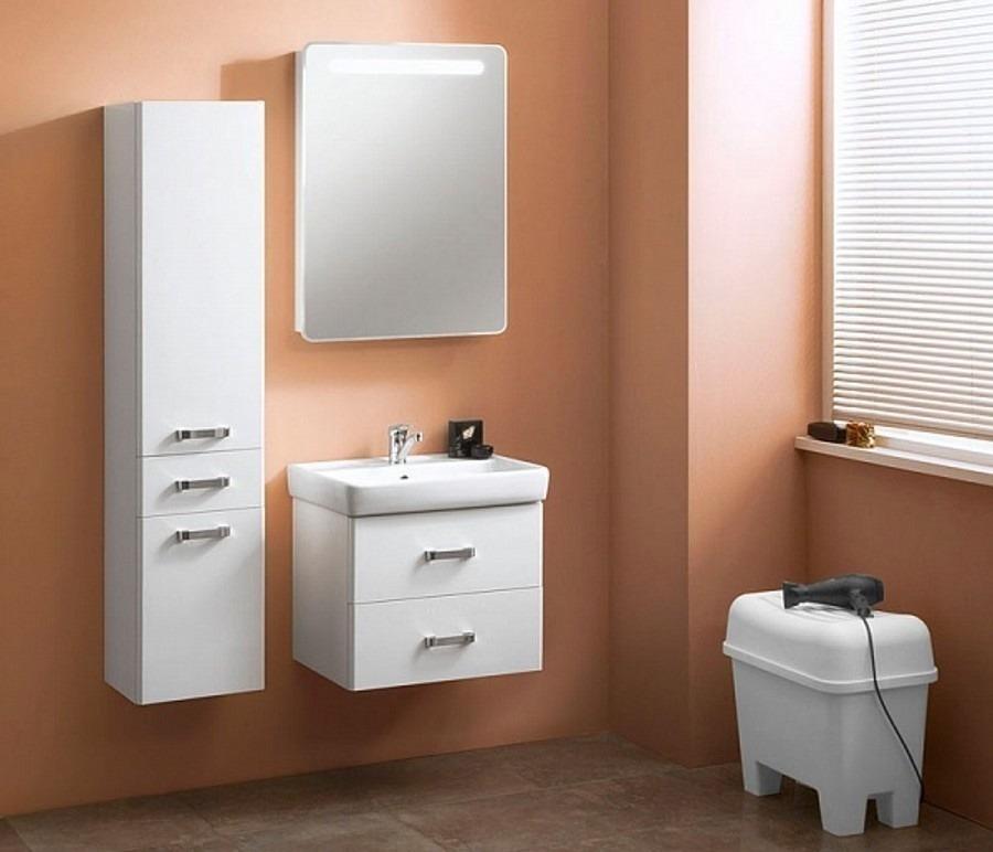 Акватон. Комплект мебели Америна 60 в ванную комнатуКомплекты мебели для ванной<br><br><br>Длина мм: 0<br>Высота мм: 0<br>Глубина мм: 0<br>Цвет: Белый
