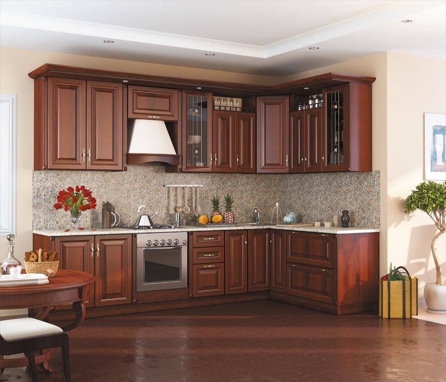 Регина Кухонный гарнитур Экспозиция 14Кухонные гарнитуры<br>Кухонный гарнитур в классическом дизайне.<br><br>Длина мм: 3130<br>Высота мм: 1585<br>Глубина мм: 0