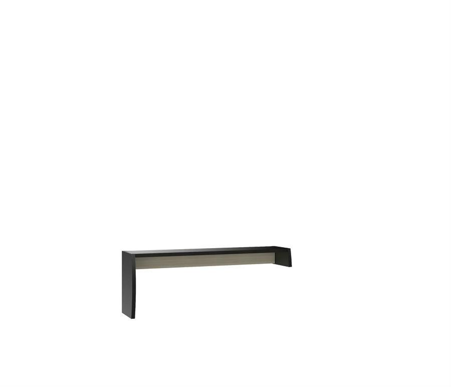 Ксено СТЛ.078.22 Надстройка левая для тумбы под TVГостиная<br><br><br>Длина мм: 1530<br>Высота мм: 550<br>Глубина мм: 352