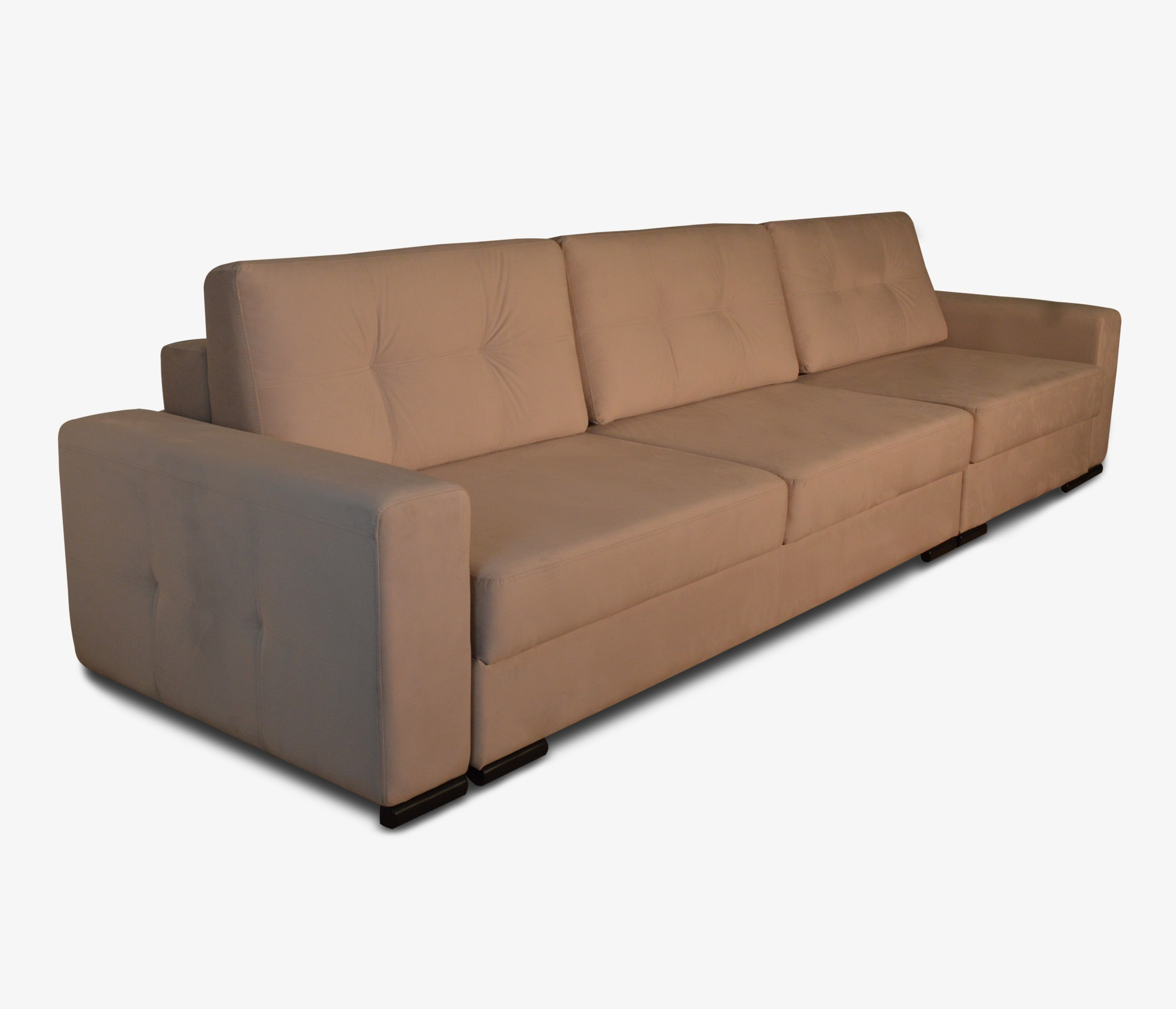 Прямой диван Деллинг с креслом правый