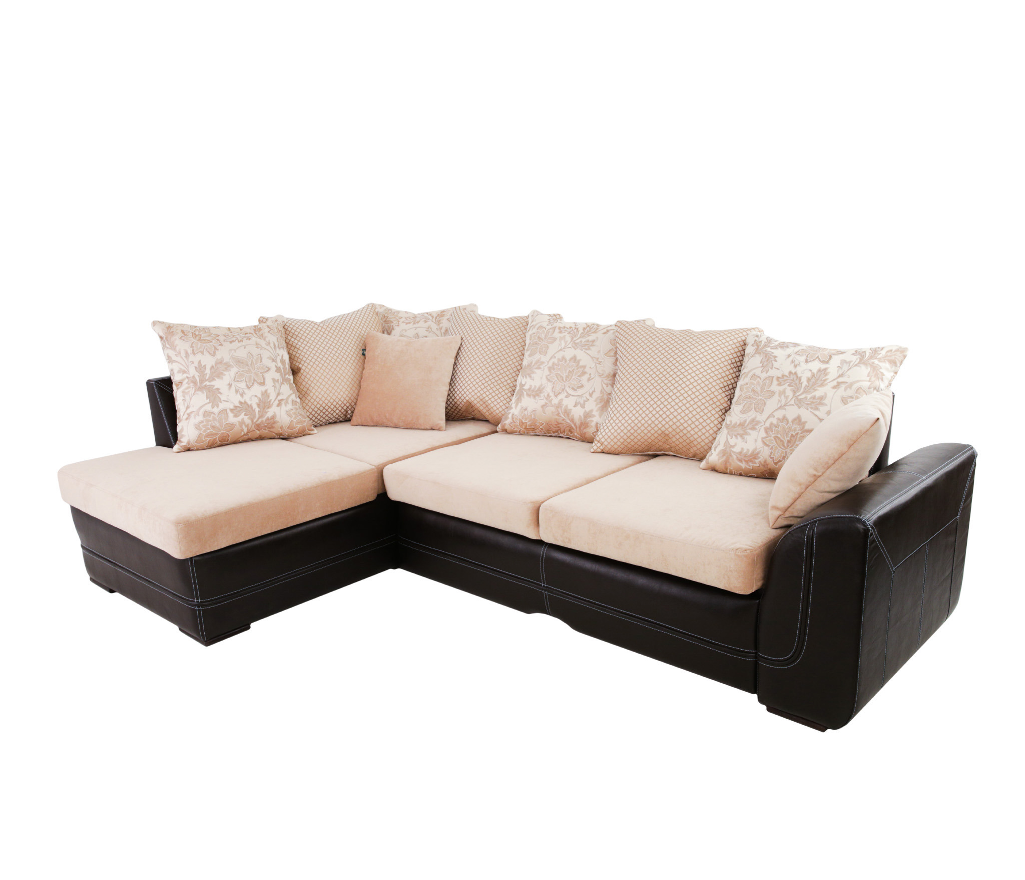 Угловой диван РАПСОДИЯ  левыйМягкая мебель<br><br><br>Длина мм: 2800<br>Высота мм: 760<br>Глубина мм: 1900