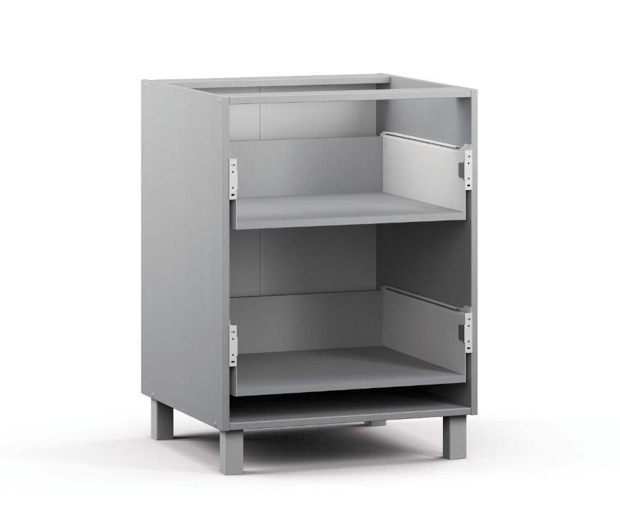 Анна АСЯ-60 Шкаф-Стол с 2-мя ящикамиМебель для кухни<br>Шкаф для кухни с удобной рабочей поверхностью.<br><br>Длина мм: 600<br>Высота мм: 820<br>Глубина мм: 563