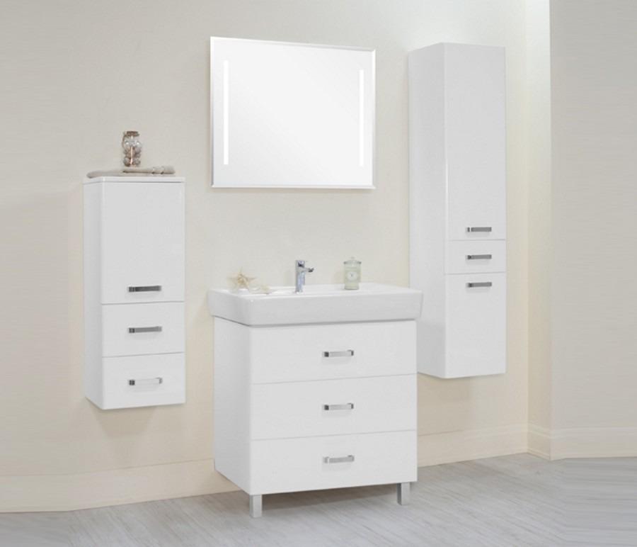 Акватон. Комплект мебели Америна 80 М в ванную комнатуКомплекты мебели для ванной<br><br><br>Длина мм: 0<br>Высота мм: 0<br>Глубина мм: 0<br>Цвет: Белый