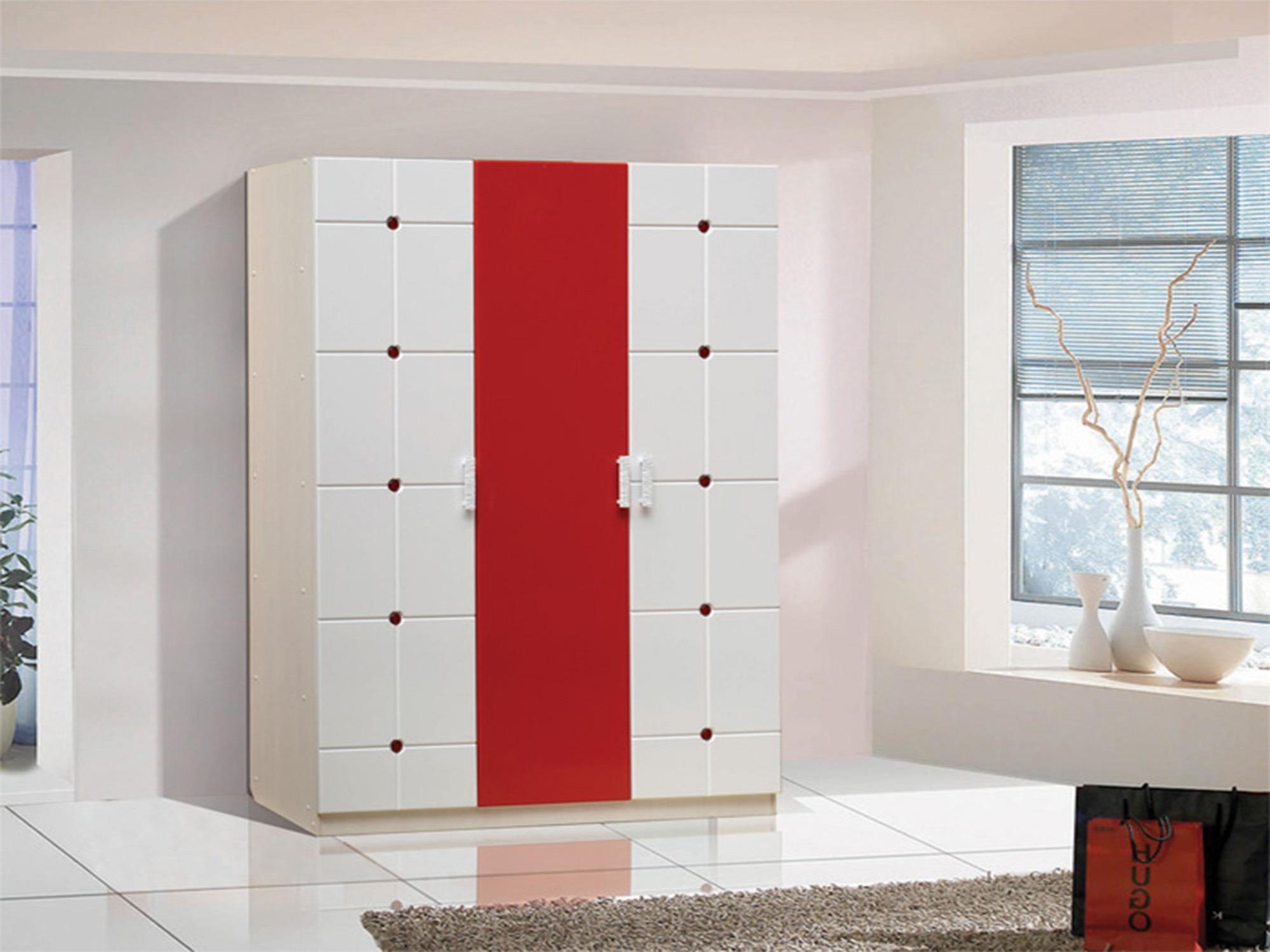 Шкаф 3 створчатый Лицей-1Шкафы<br><br><br>Длина мм: 1500<br>Высота мм: 2100<br>Глубина мм: 520