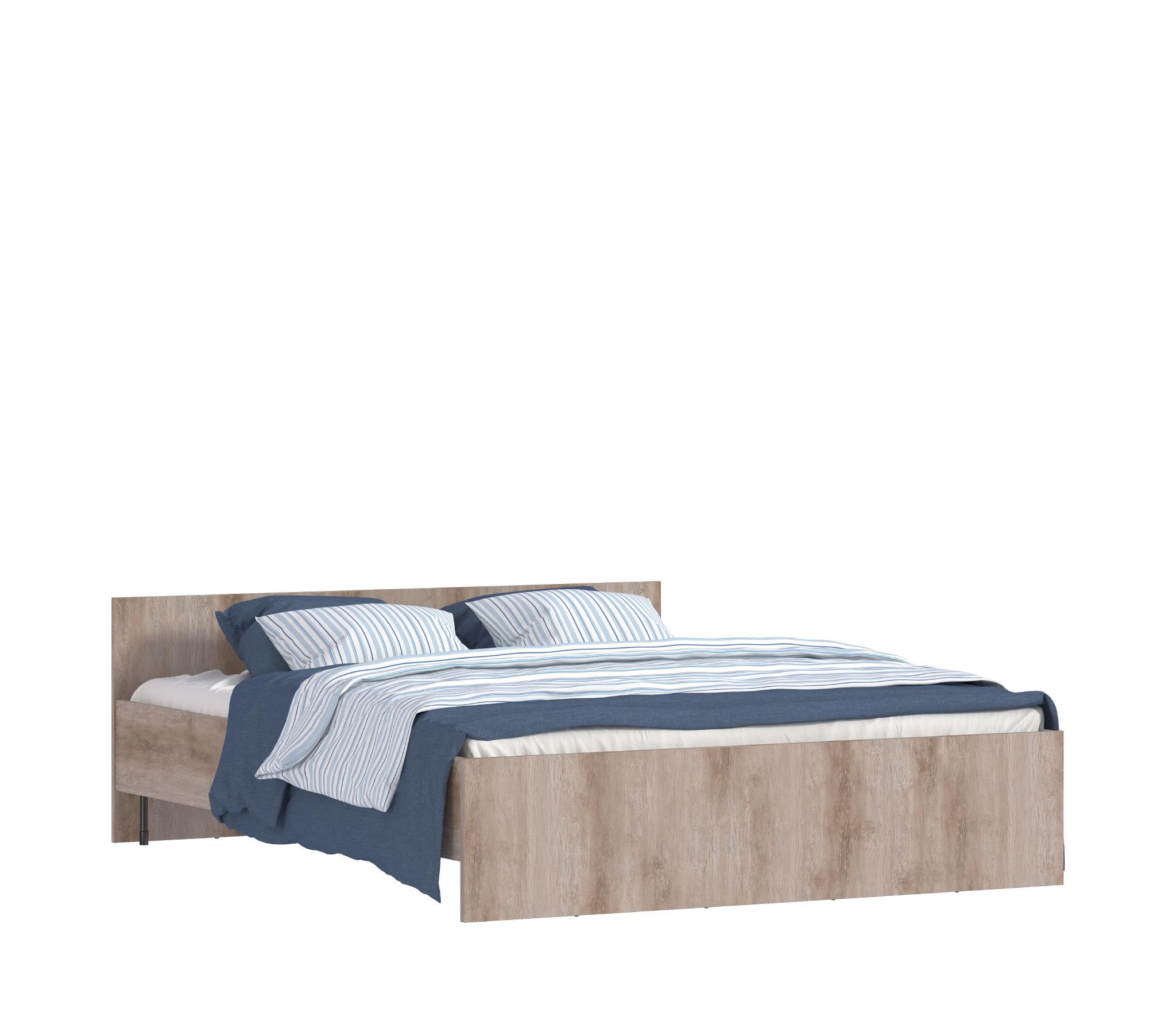 Карина СБ-1803-1 Кровать Sacramento Oak