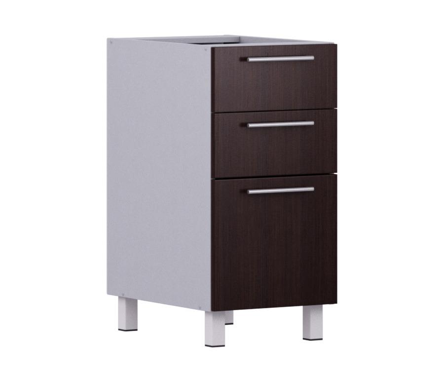 Анна АСЯ-40 стол  с 3-мя ящикамиМебель для кухни<br><br><br>Длина мм: 400<br>Высота мм: 820<br>Глубина мм: 563