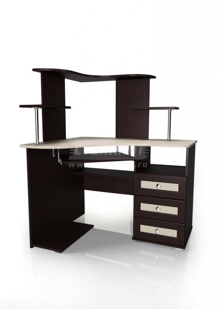 Стол для компьютера МБ – 35Компьютерные столы<br><br><br>Длина мм: 1050<br>Высота мм: 1275<br>Глубина мм: 900