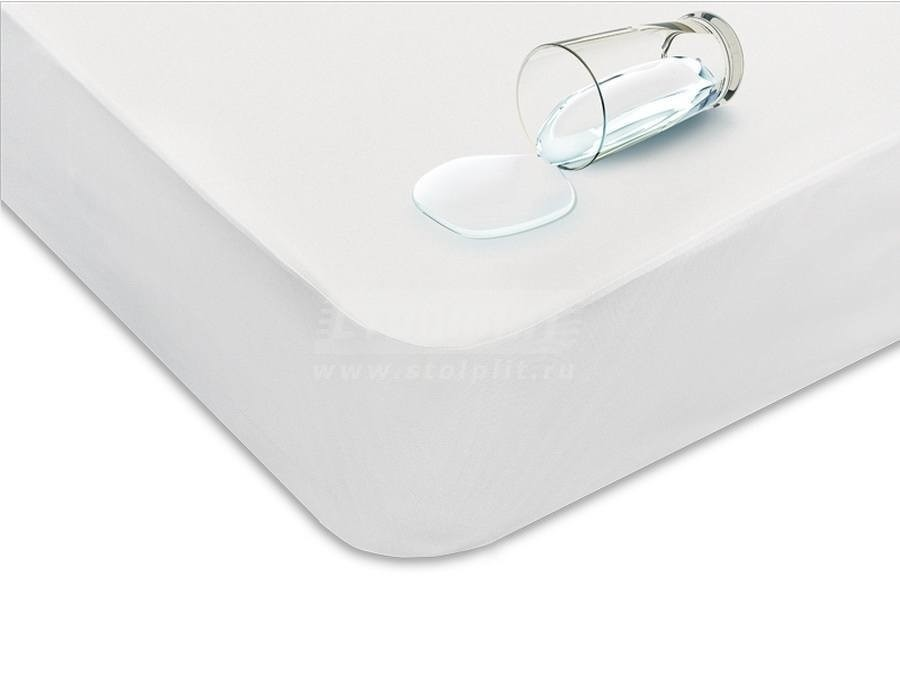 Чехол 200*160*35,6 Protect-a-Bed BasicСпальня<br><br><br>Длина мм: 1600<br>Высота мм: 356<br>Глубина мм: 2000<br>Цвет: Белый