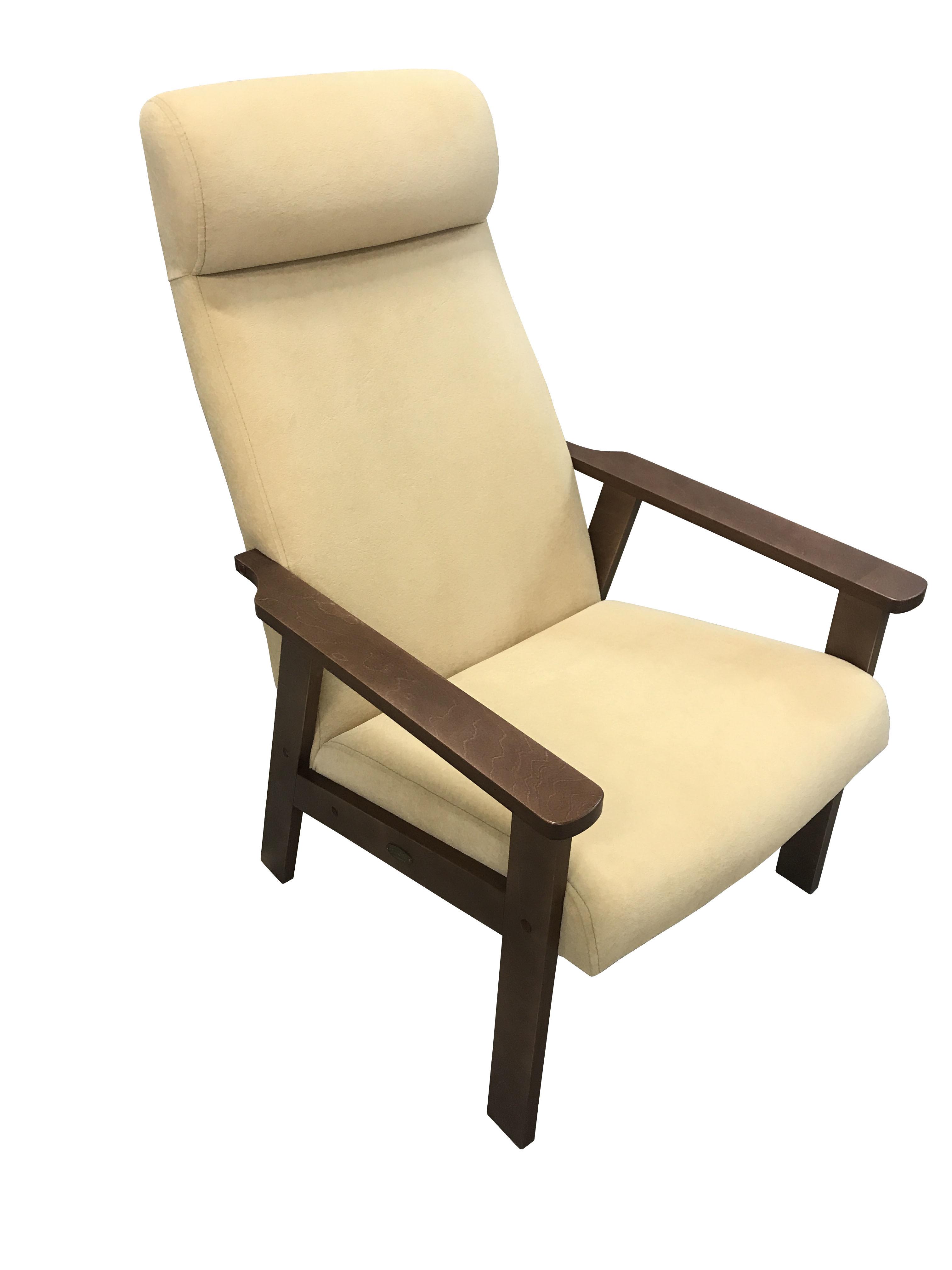 мягкие кресла Кресло для отдыха Вилора, Орех, Bolero silk bone