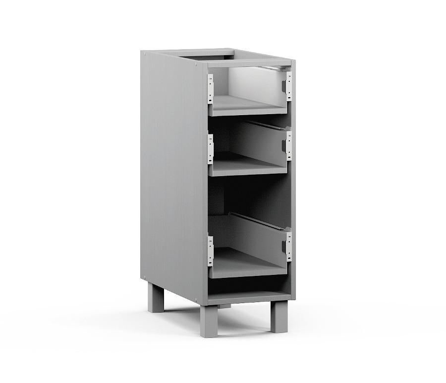 Анна АСЯ-30 Шкаф-Стол с ящикамиМебель для кухни<br>К данному изделию также необходимо дополнительно приобрести фасад: Анна Н-40.<br><br>Длина мм: 300<br>Высота мм: 820<br>Глубина мм: 563