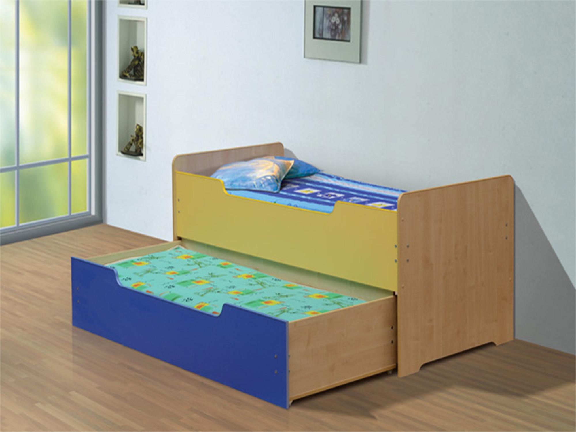 Кровать выдвижная-1Детские кровати<br><br><br>Длина мм: 970<br>Высота мм: 900<br>Глубина мм: 2040