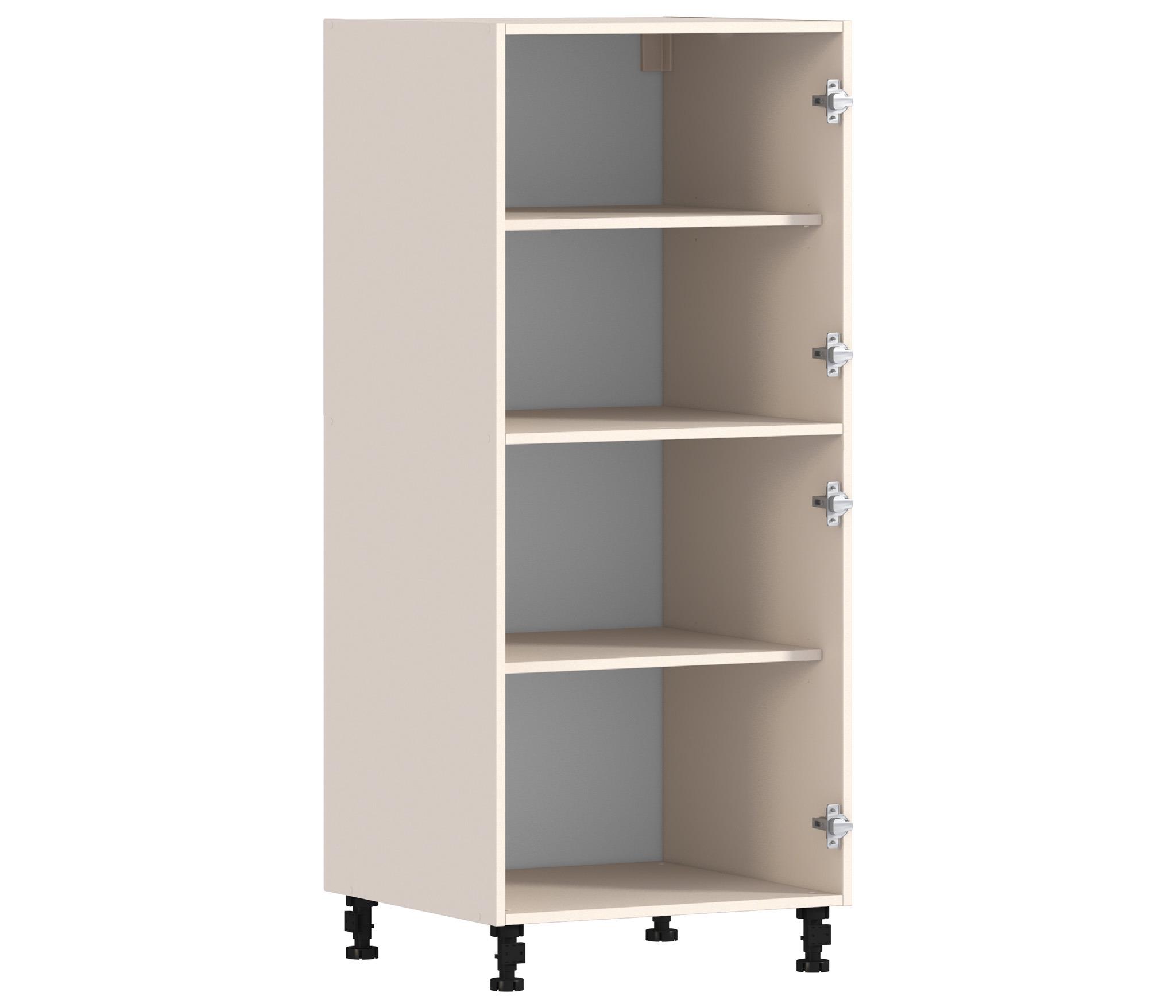 Регина РП-460 ПеналМебель для кухни<br>Компактный одностворчатый шкаф для кухни с двумя отделениями.<br><br>Длина мм: 600<br>Высота мм: 1418<br>Глубина мм: 563