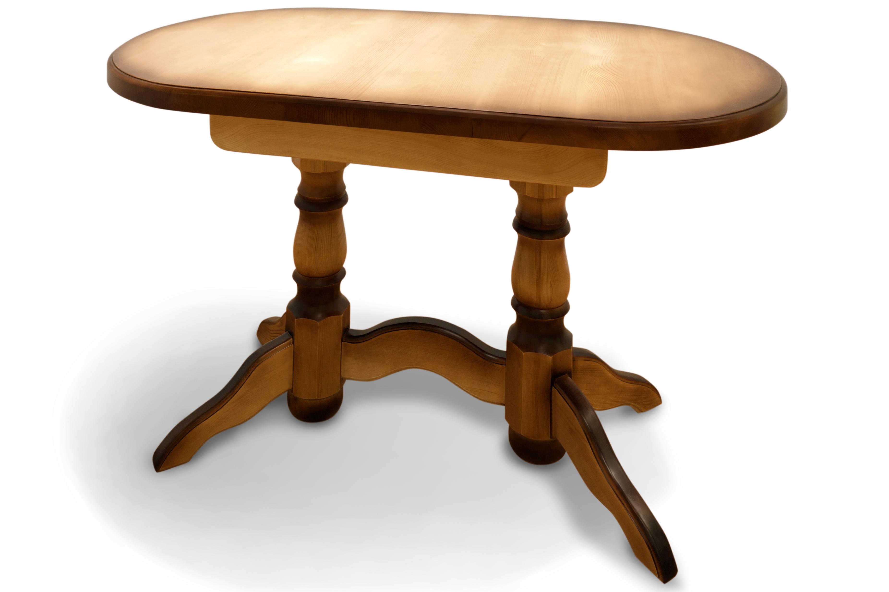 Стол из массива дерева Стенфорд-2 стол laredoute обеденный круглый из массива сосны authentic style 8 персоны бежевый