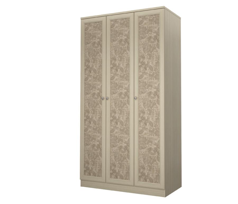 Дженни СТЛ.127.01 Шкаф 3-х дверныйШкафы<br><br><br>Длина мм: 1188<br>Высота мм: 2222<br>Глубина мм: 596