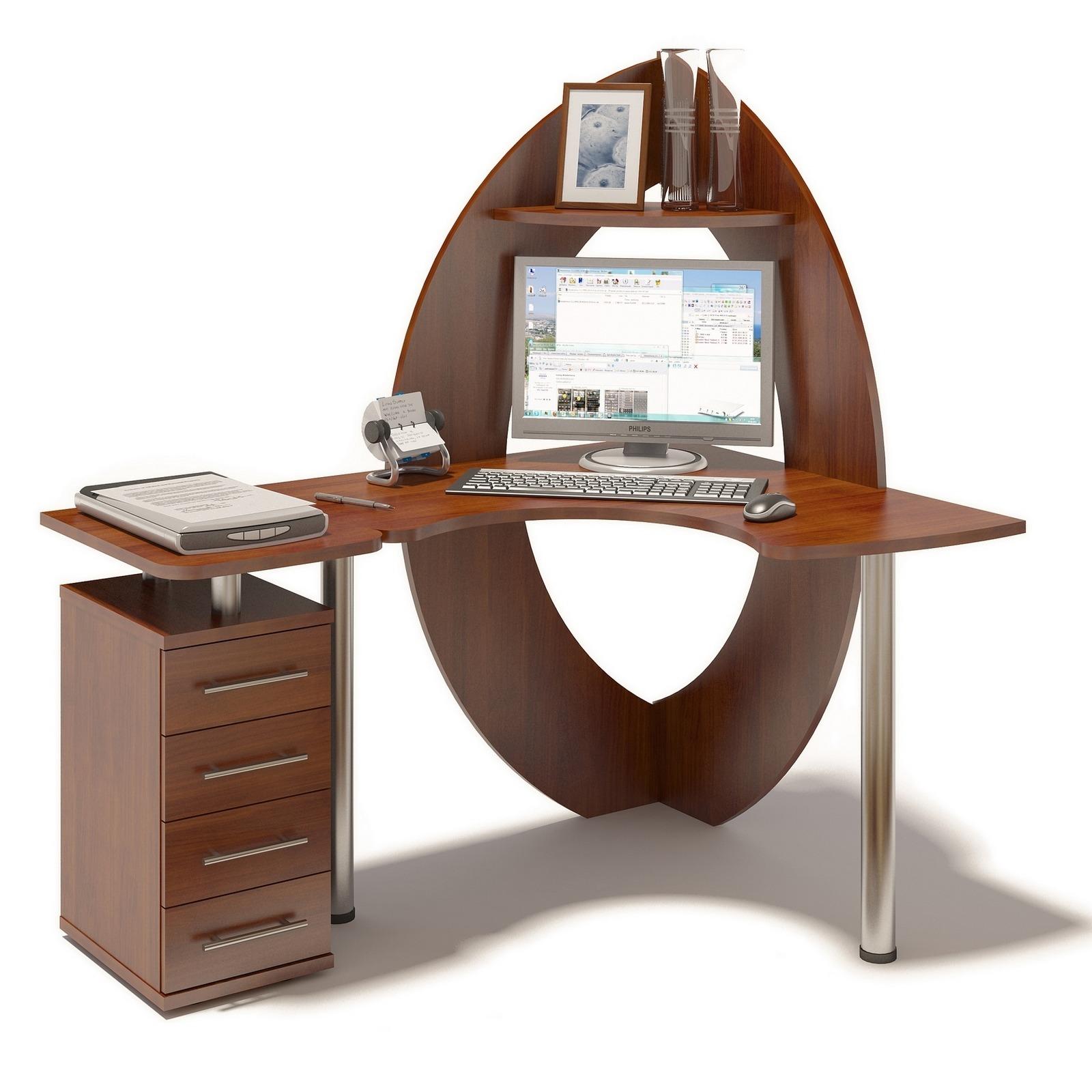 Угловой компьютерный стол кст-101+кт-101 купить за 12 200 ру.